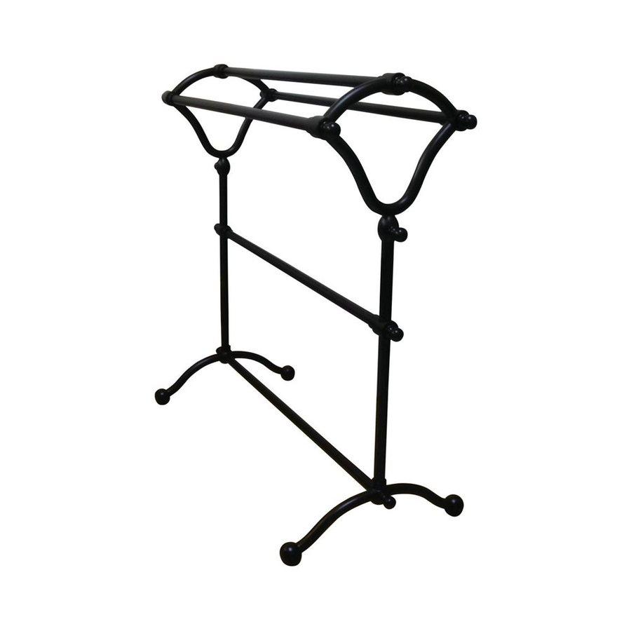 Elements of Design Vintage Dark Bronze Rack Towel Bar (Common: 28-in; Actual: 28-in)