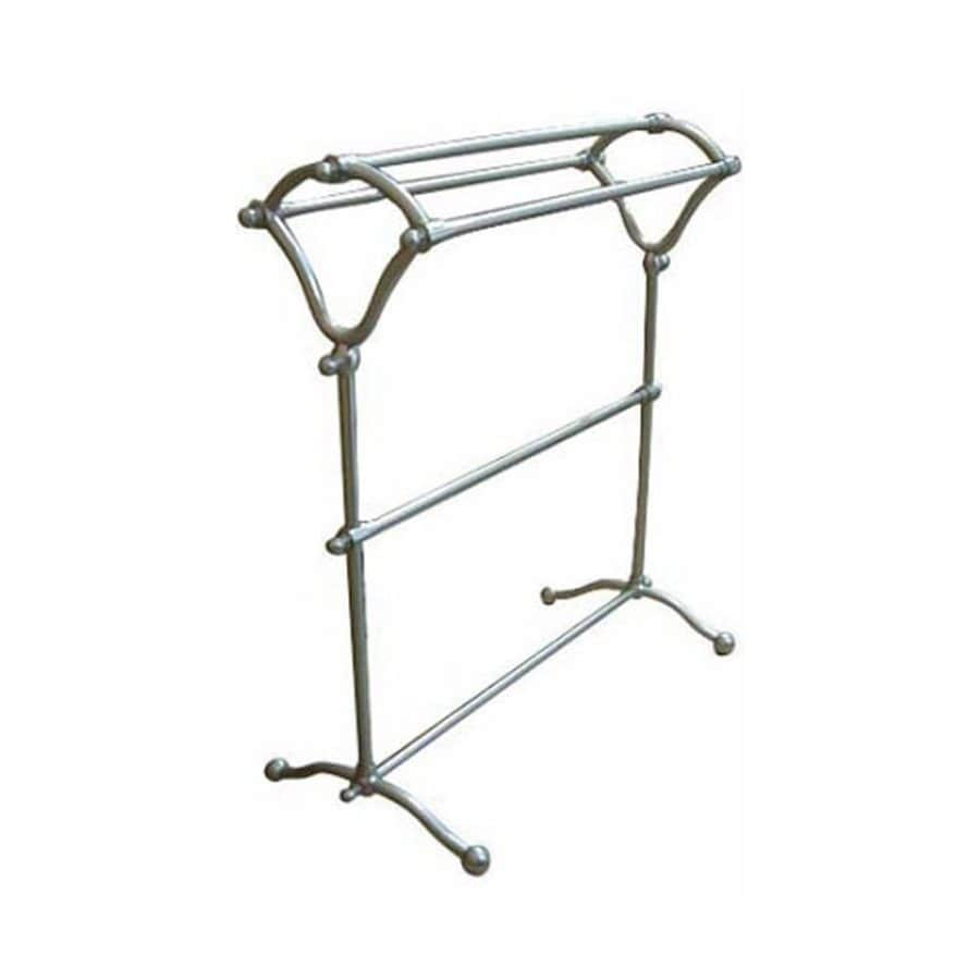 Elements of Design Vintage Satin Nickel Rack Towel Bar (Common: 28-in; Actual: 28-in)