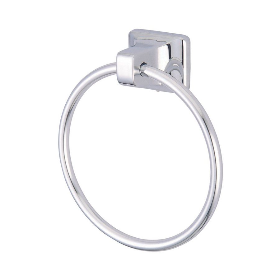 Elements of Design Americana Polished Chrome Wall-Mount Towel Ring