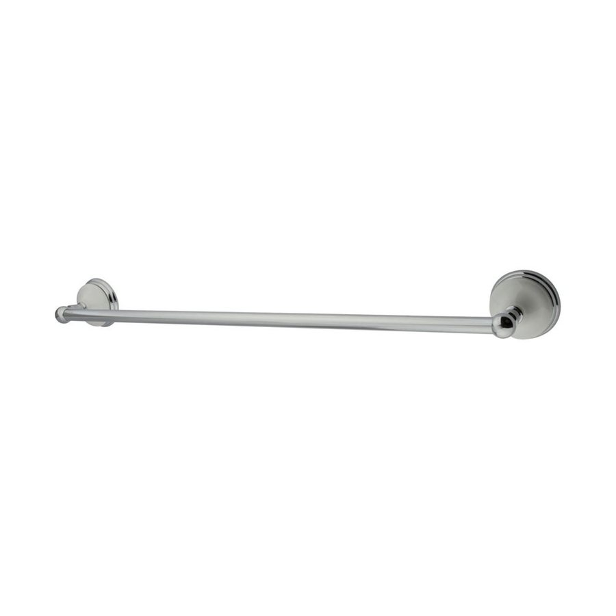 Elements of Design Victorian Chrome Single Towel Bar (Common: 24-in; Actual: 26.75-in)