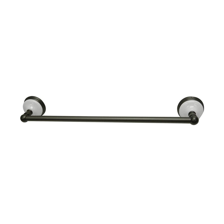 Elements of Design Victorian Oil-Rubbed Bronze Single Towel Bar (Common: 18-in; Actual: 20.75-in)