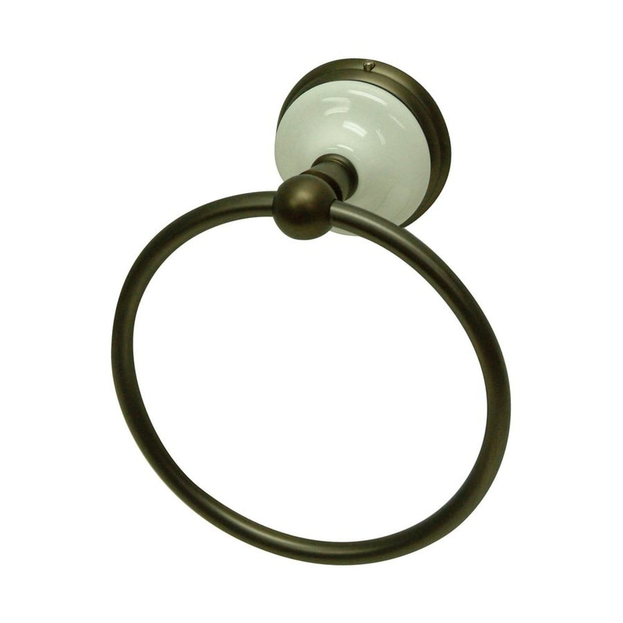 Elements of Design Victorian Oil-Rubbed Bronze Wall-Mount Towel Ring