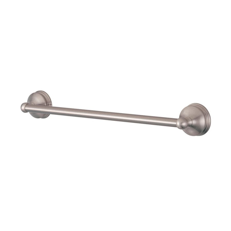 Elements of Design Vintage Satin Nickel Single Towel Bar (Common: 18-in; Actual: 20.75-in)