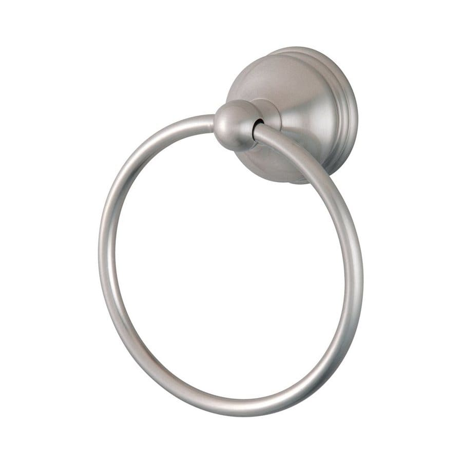 Elements of Design Vintage Satin Nickel Wall-Mount Towel Ring