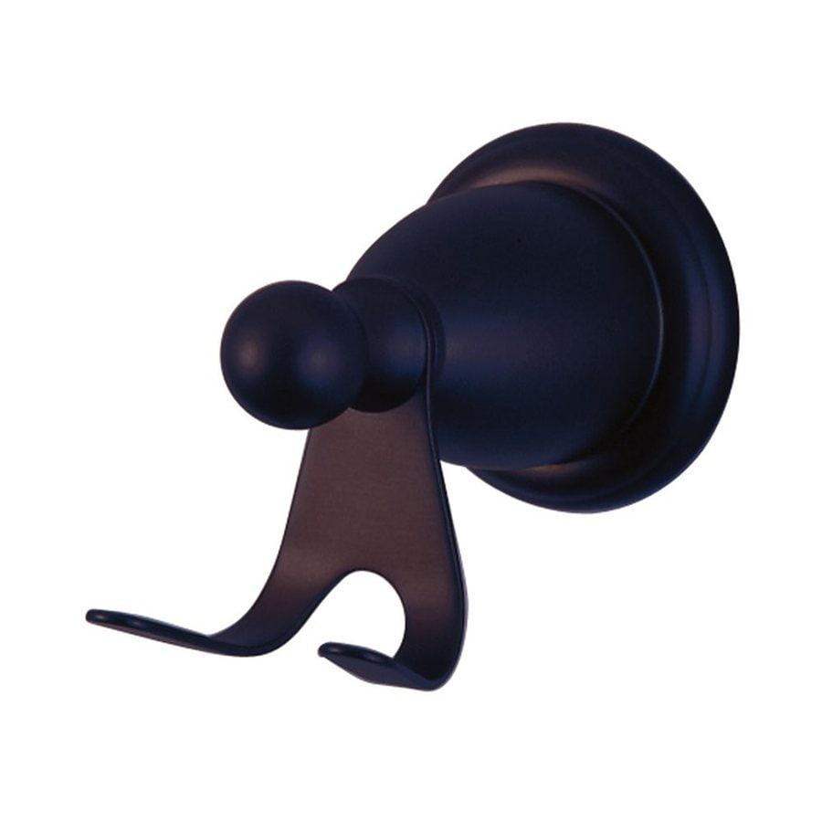 Elements of Design Heritage 2-Hook Oil-Rubbed Bronze Robe Hook