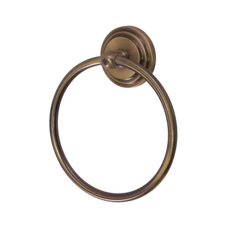 Elements of Design Milano Vintage Brass Wall-Mount Towel Ring