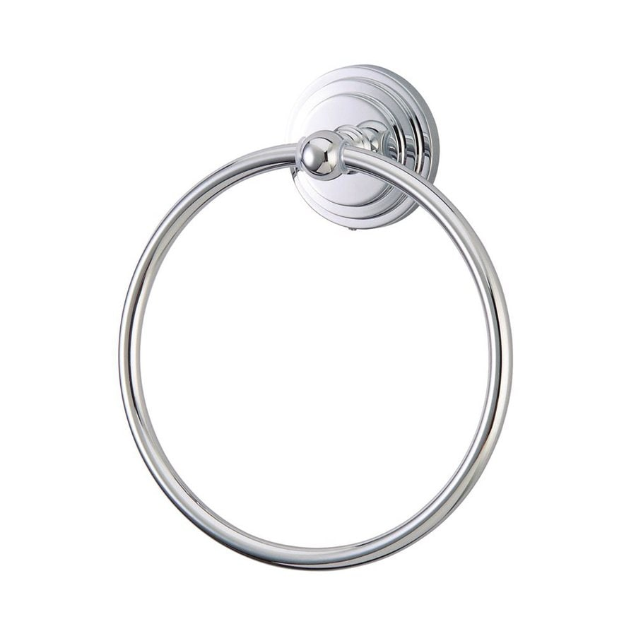 Elements of Design Milano Polished Chrome Wall-Mount Towel Ring