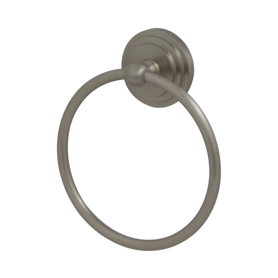 Elements of Design Milano Satin Nickel Wall-Mount Towel Ring