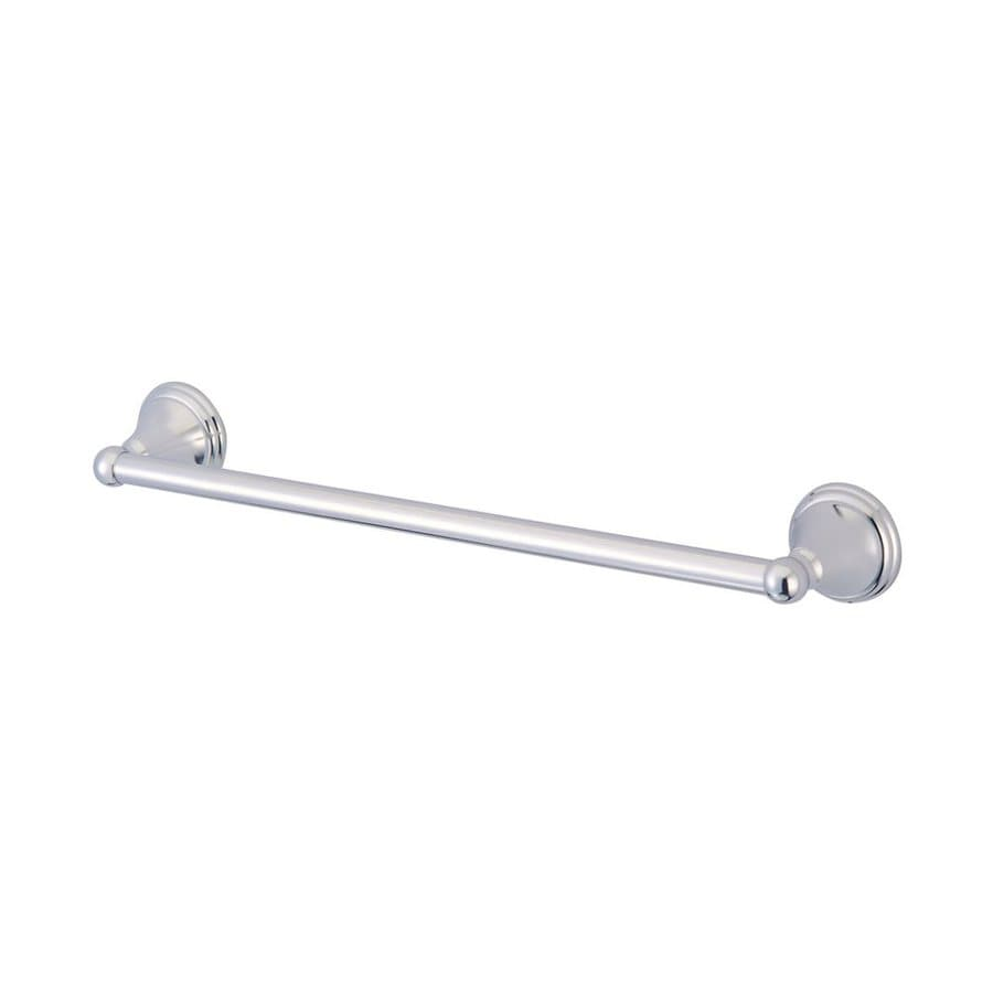 Elements of Design Governor Chrome Single Towel Bar (Common: 24-in; Actual: 26.63-in)