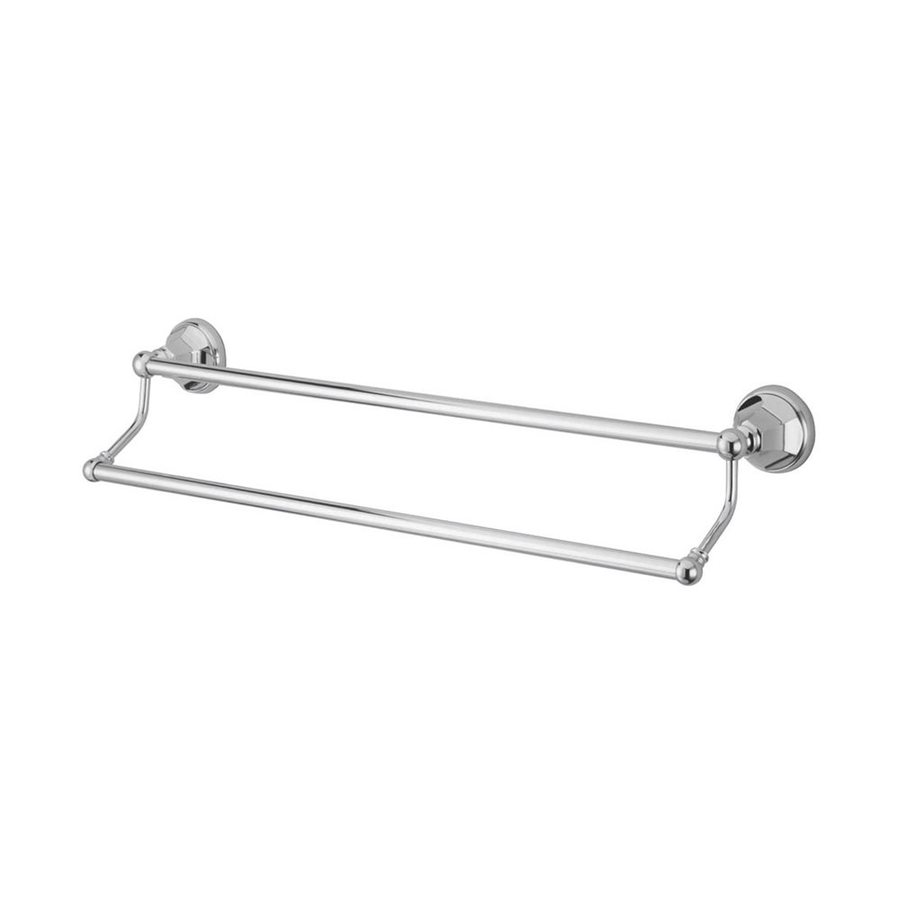 Elements of Design Metropolitan Chrome Double Towel Bar (Common: 24-in; Actual: 26.75-in)