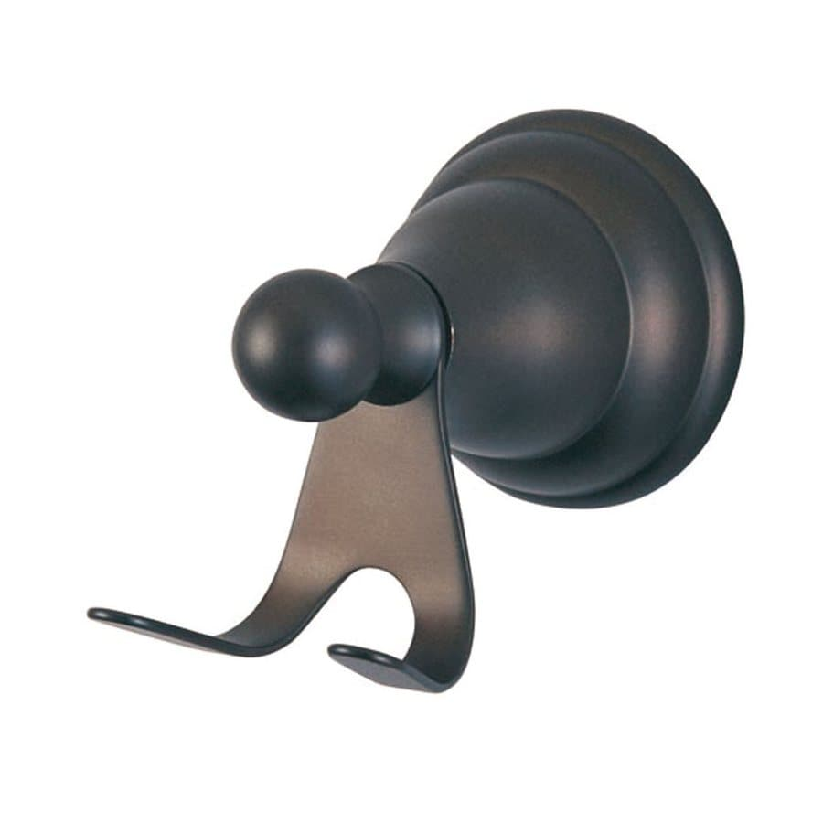 Elements of Design Royale 2-Hook Oil-Rubbed Bronze Robe Hook