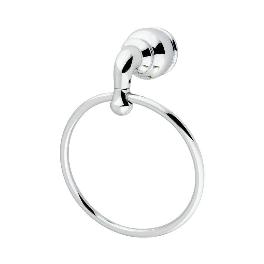 Elements of Design Magellan Polished Chrome Wall-Mount Towel Ring