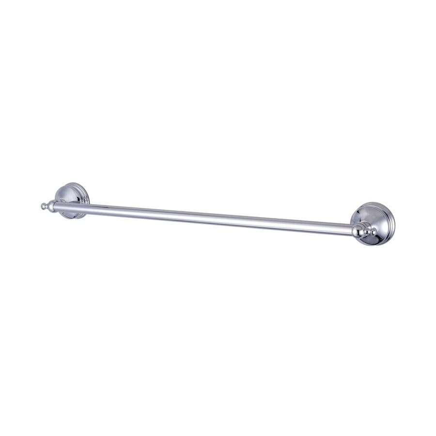 Elements of Design Naples Chrome Single Towel Bar (Common: 18-in; Actual: 20.75-in)