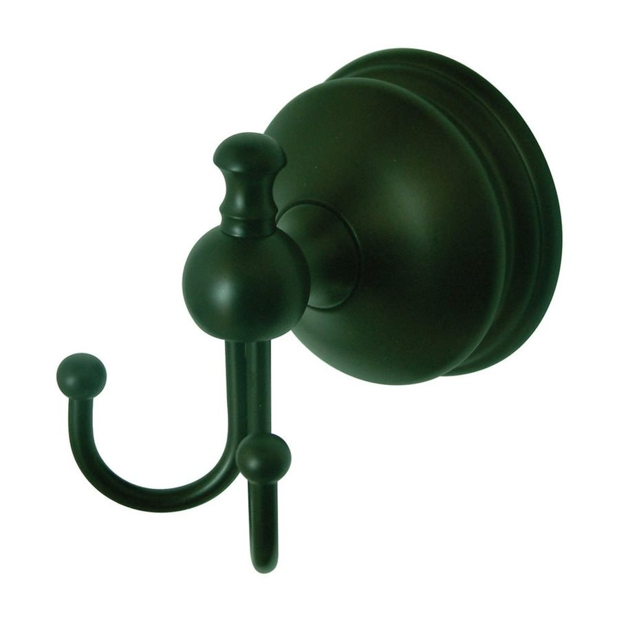 Elements of Design Naples 2-Hook Oil-Rubbed Bronze Robe Hook