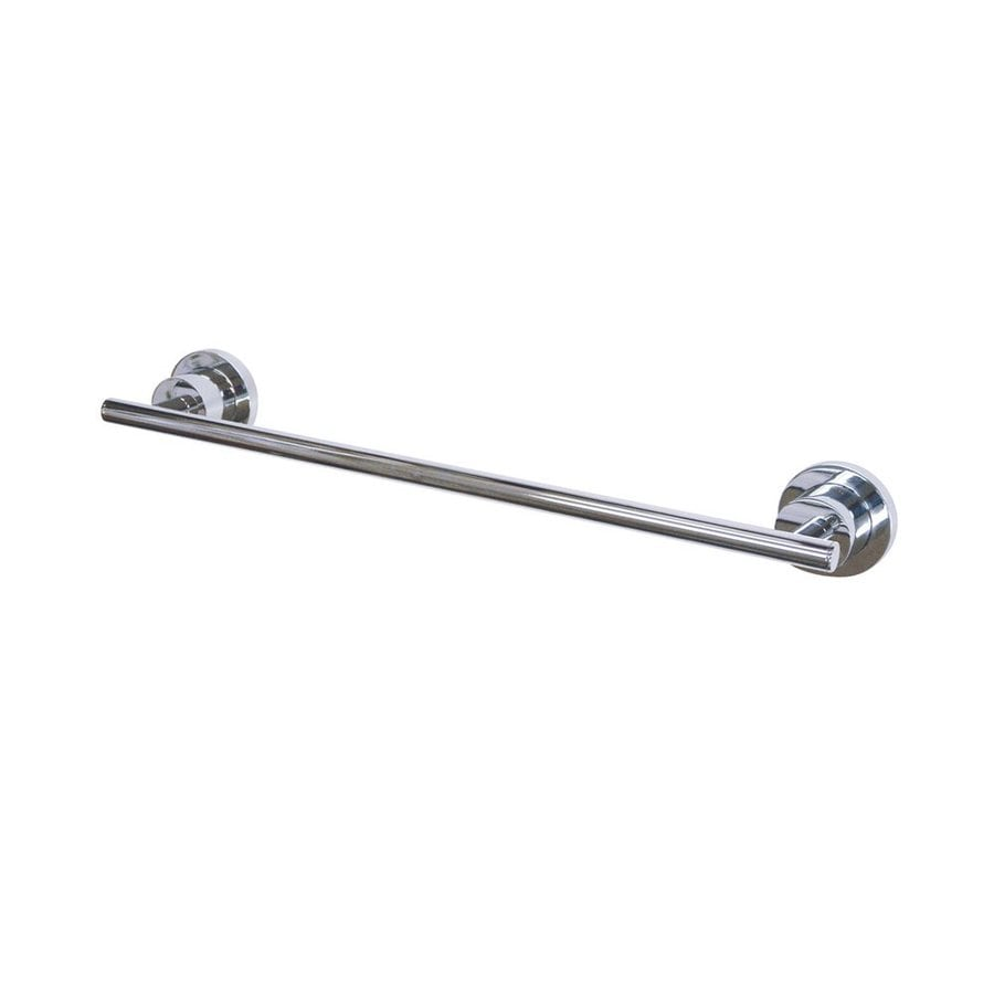 Elements of Design Concord Chrome Single Towel Bar (Common: 18-in; Actual: 18.125-in)