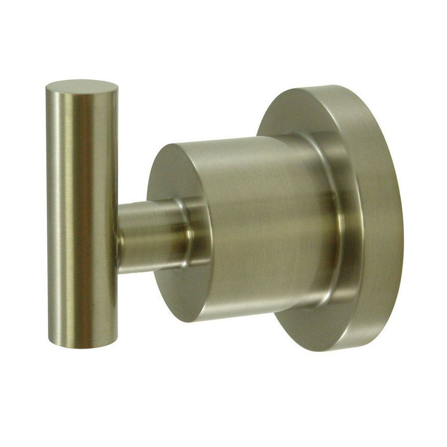 Elements of Design Concord 1-Hook Satin Nickel Robe Hook