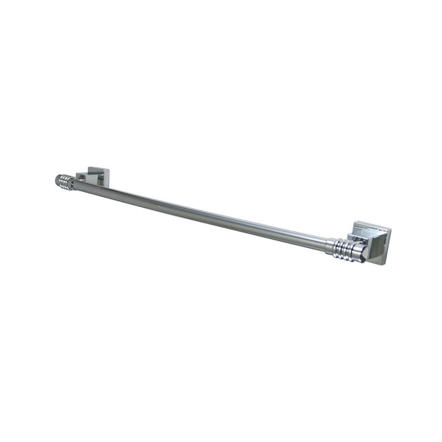 Elements of Design Fortress Chrome Single Towel Bar (Common: 18-in; Actual: 20-in)