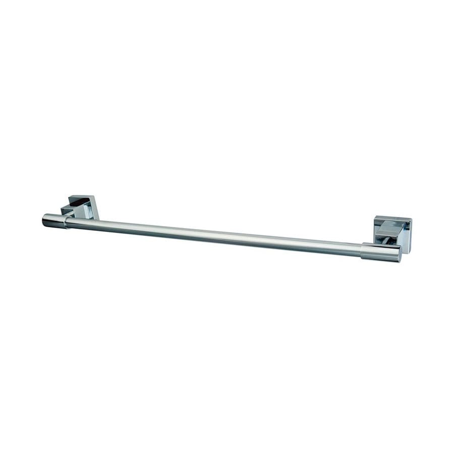Elements of Design Claremont Chrome Single Towel Bar (Common: 24-in; Actual: 25.75-in)