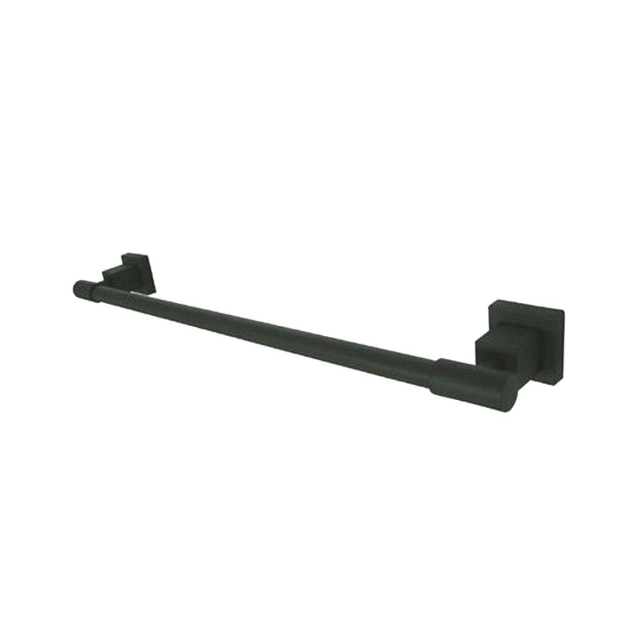 Elements of Design Claremont Oil-Rubbed Bronze Single Towel Bar (Common: 18-in; Actual: 19.75-in)