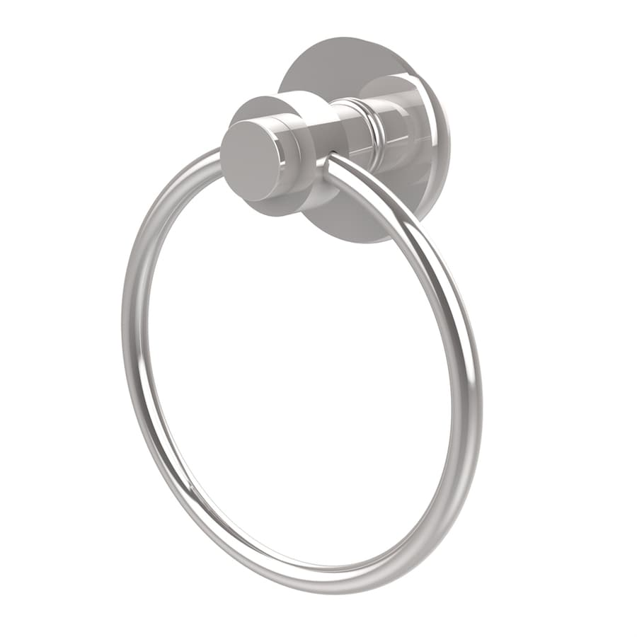 Allied Brass Mercury Polished Chrome Wall-Mount Towel Ring