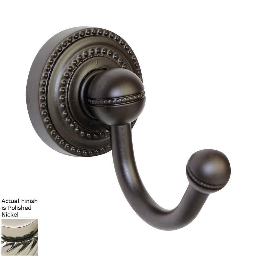 Allied Brass Dottingham Polished Nickel Towel Hook