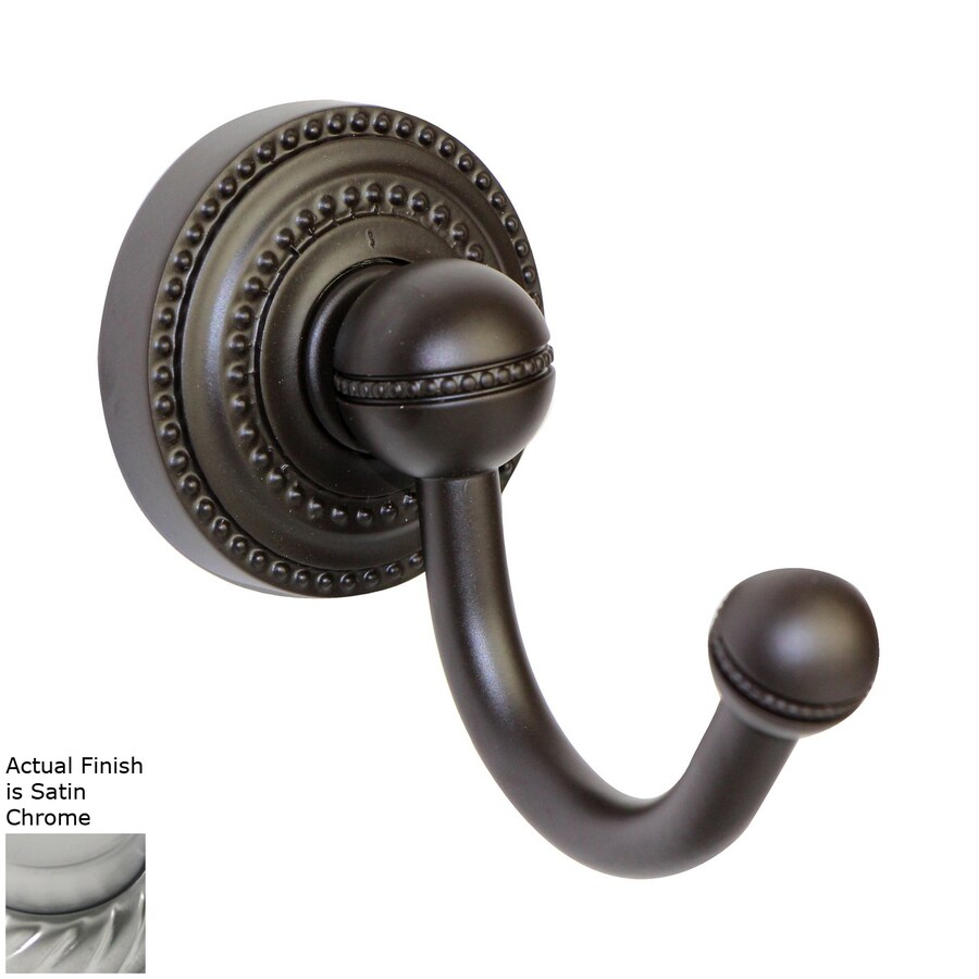 Allied Brass Dottingham Satin Chrome Towel Hook