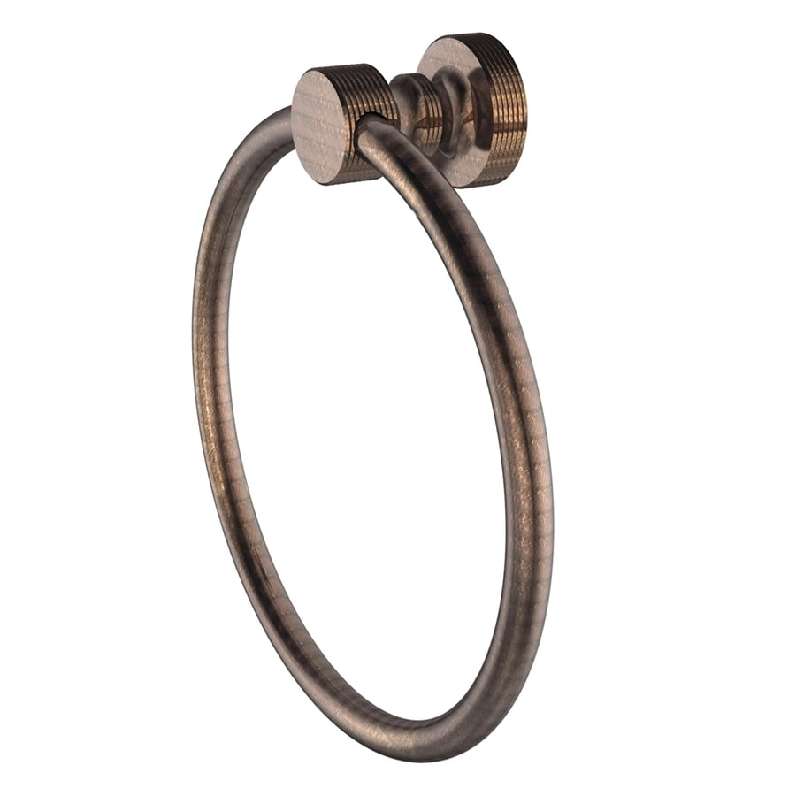 Allied Brass Foxtrot Venetian Bronze Wall-Mount Towel Ring