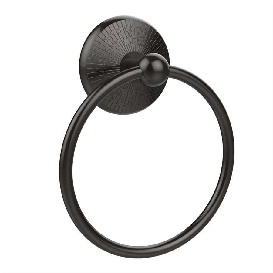 Allied Brass Monte Carlo Oil-Rubbed Bronze Wall-Mount Towel Ring