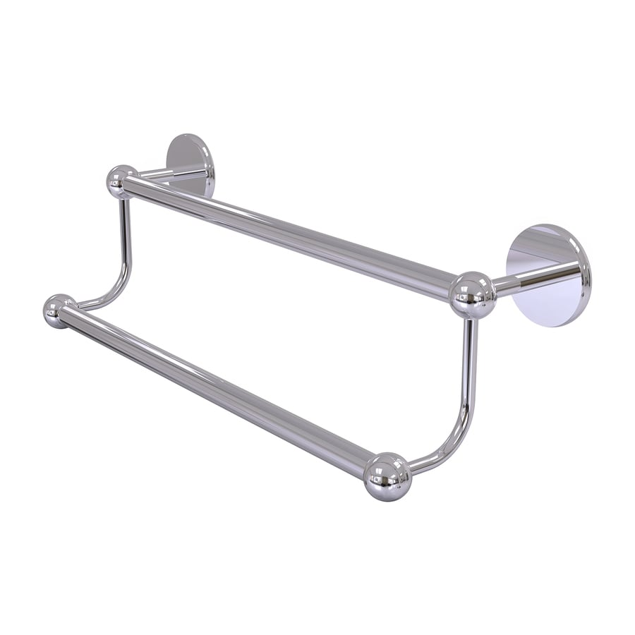 Allied Brass Prestige Skyline Polished Chrome Double Towel Bar (Common: 30-in; Actual: 32.8-in)