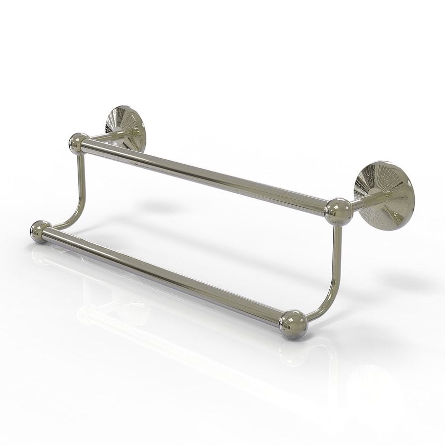Allied Brass Prestige Monte Carlo Polished Nickel Double Towel Bar