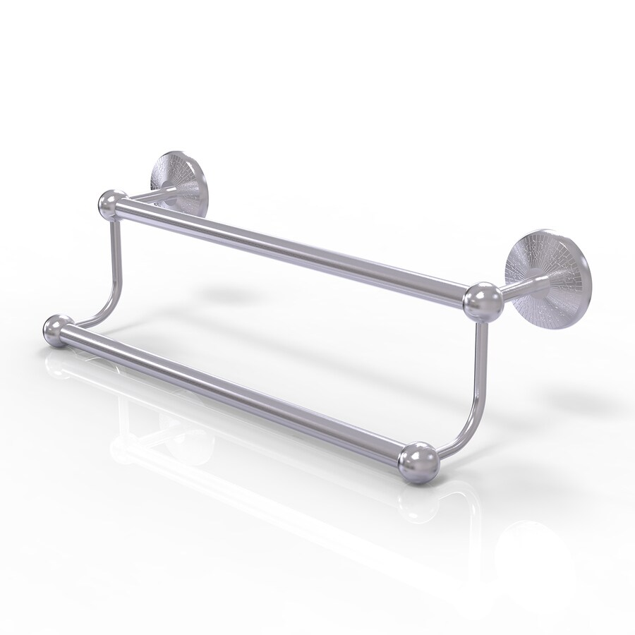 Allied Brass Prestige Monte Carlo Satin Chrome Double Towel Bar
