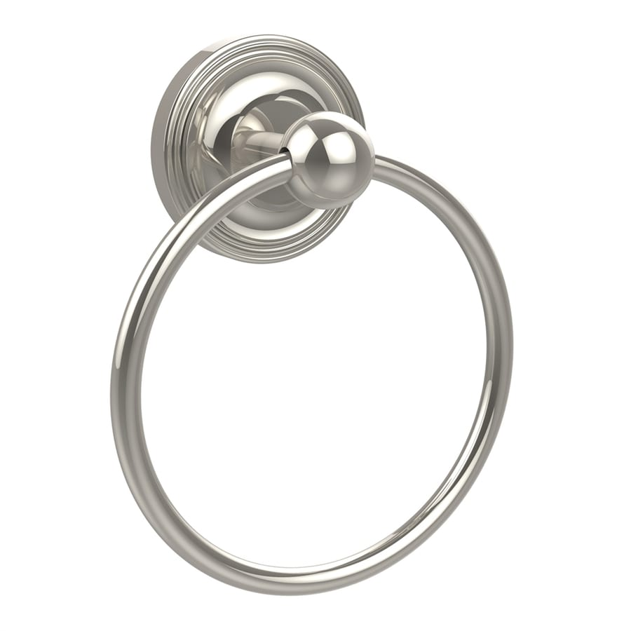 Allied Brass Prestige Regal Polished Nickel Wall-Mount Towel Ring