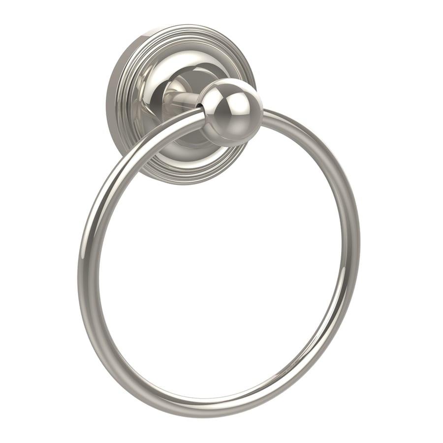 Allied Brass Prestige Regal Polished Nickel Wall Mount Towel Ring