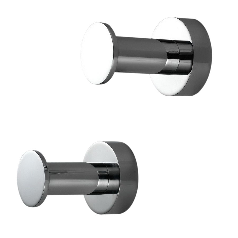WS Bath Collections Baketo Polished Chrome Robe Hook
