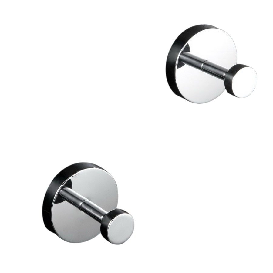 WS Bath Collections Duemila Polished Chrome Robe Hook