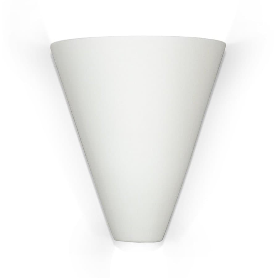 A-19 Islands of Light Gotlandia 7.75-in W 1-Light Bisque-unfinished Pocket Wall Sconce