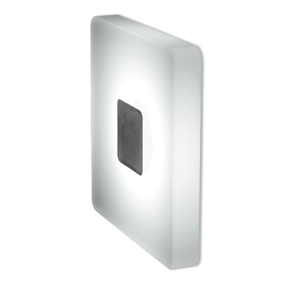 Bruck Lighting Systems Ledra 3.1-in W 1-Light Matte chrome Pocket LED Wall Sconce