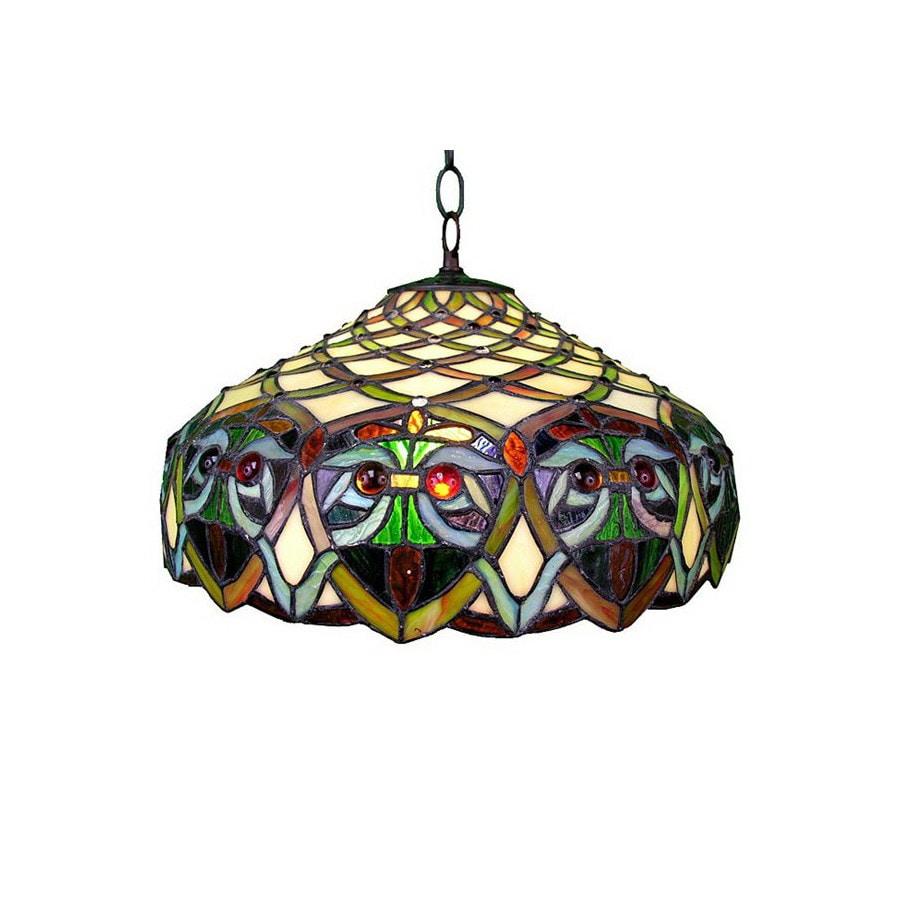 Warehouse Of Tiffany Ariel 16-in W Tiffany-Style Pendant
