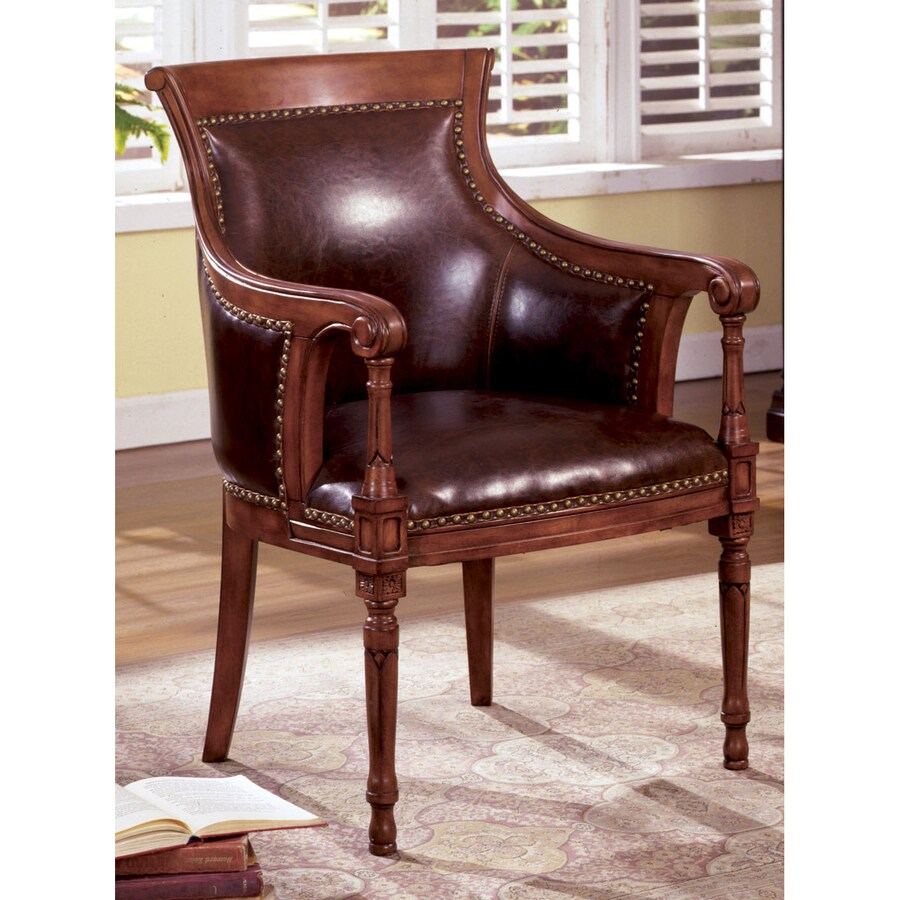 Shop furniture of america kirklees antique oak faux for Furniture of america furniture