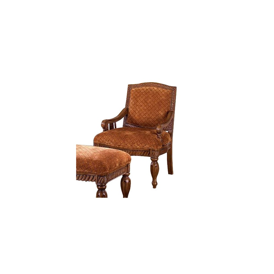 Furniture of America Nottingham Antique Oak Accent Chair