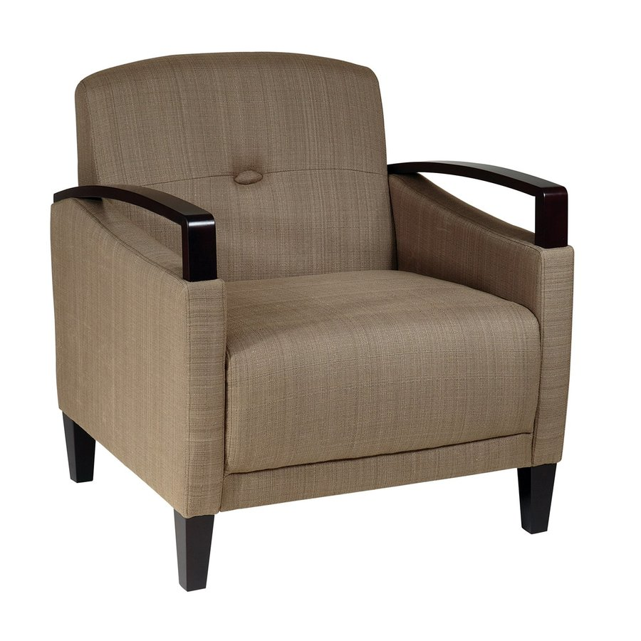 Office Star Avenue Six Casual Woven Seaweed Blend Accent Chair
