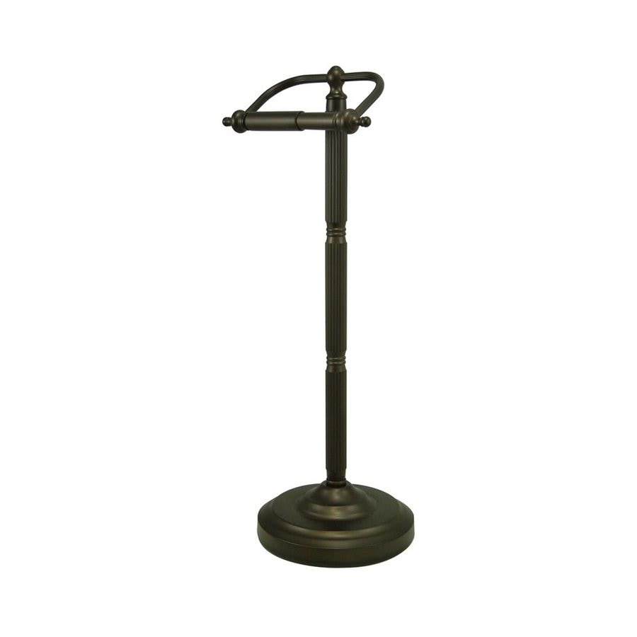 Elements of Design Georgian Oil-Rubbed Bronze Freestanding Floor Toilet Paper Holder