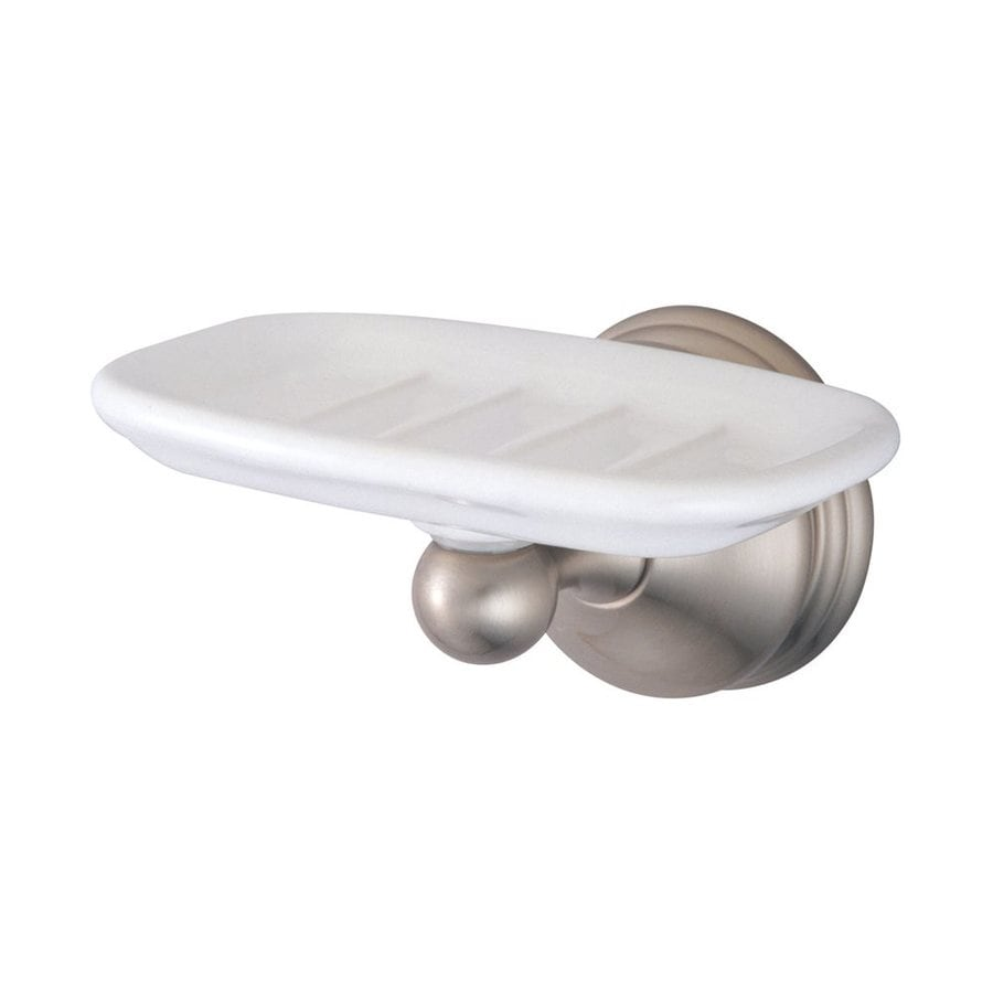 Elements of Design Vintage Satin Nickel Brass Soap Dish