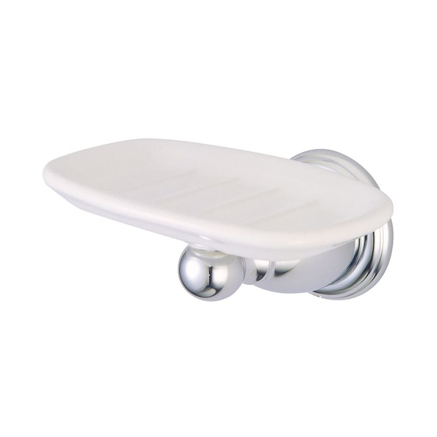 Elements of Design Heritage Chrome Brass Soap Dish