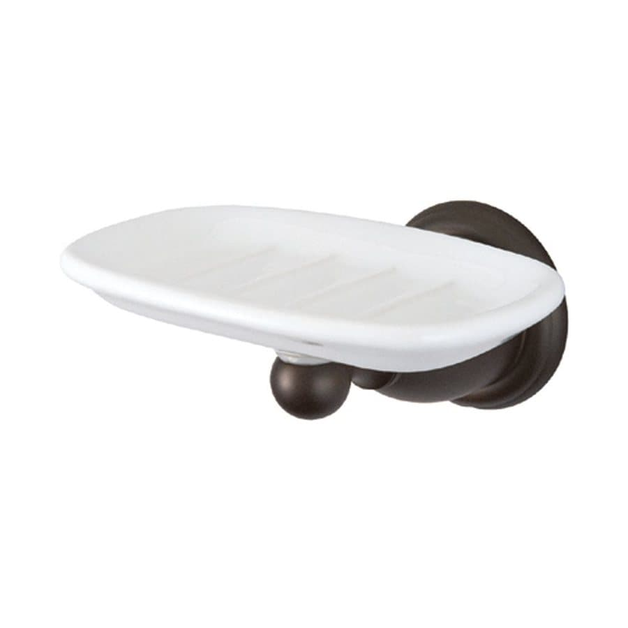 Elements of Design Heritage Oil-Rubbed Bronze Ceramic Soap Dish