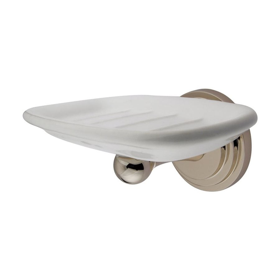 Elements of Design Milano Polished Nickel Brass Soap Dish