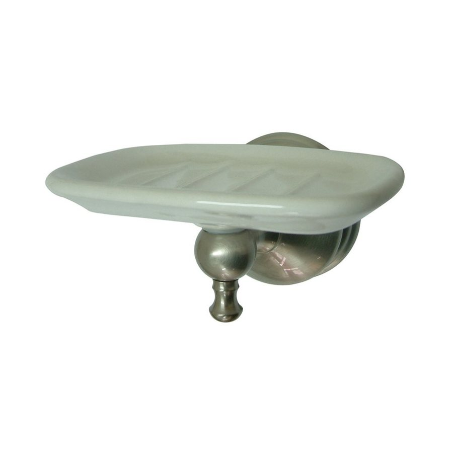Elements of Design Naples Satin Nickel Brass Soap Dish