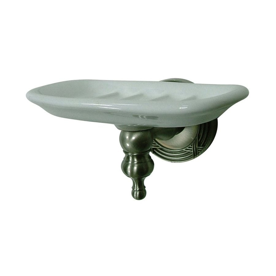 Elements of Design Templeton Satin Nickel Brass Soap Dish