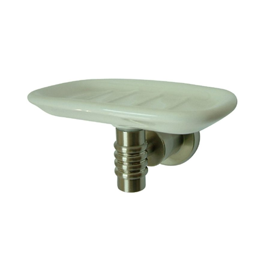Elements of Design Milano Satin Nickel Brass Soap Dish