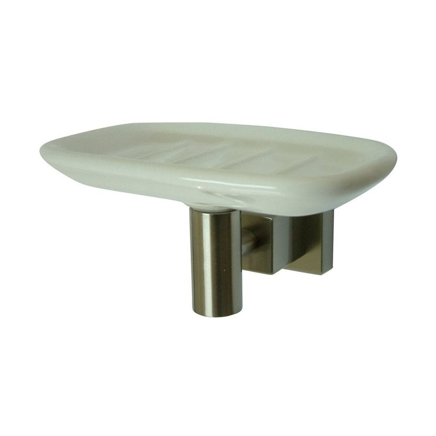 Elements of Design Claremont Satin Nickel Brass Soap Dish